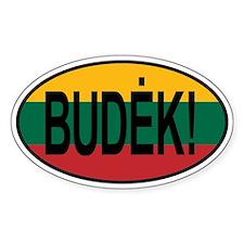 Budek! Decal