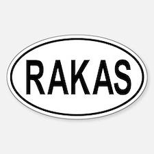 Rakas Sticker (Oval)