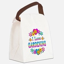 I Love Gardening Canvas Lunch Bag