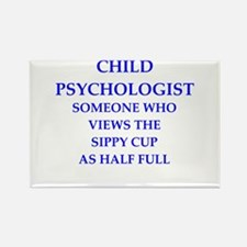 child psychologist Rectangle Magnet
