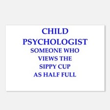 child psychologist Postcards (Package of 8)