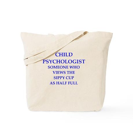 child psychologist Tote Bag