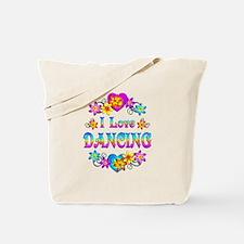 I Love Dancing Tote Bag