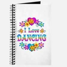 I Love Dancing Journal