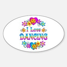 I Love Dancing Decal