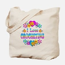 I Love Crocheting Tote Bag