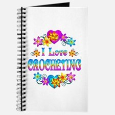 I Love Crocheting Journal