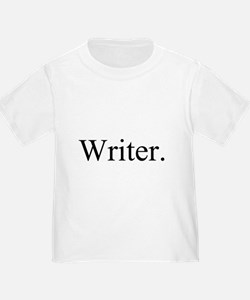 Writer. Black T-Shirt