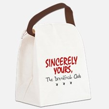 'Sincerely Yours' Canvas Lunch Bag
