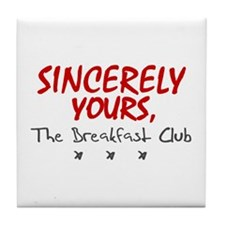 'Sincerely Yours' Tile Coaster