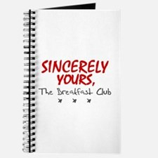 'Sincerely Yours' Journal