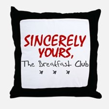 'Sincerely Yours' Throw Pillow