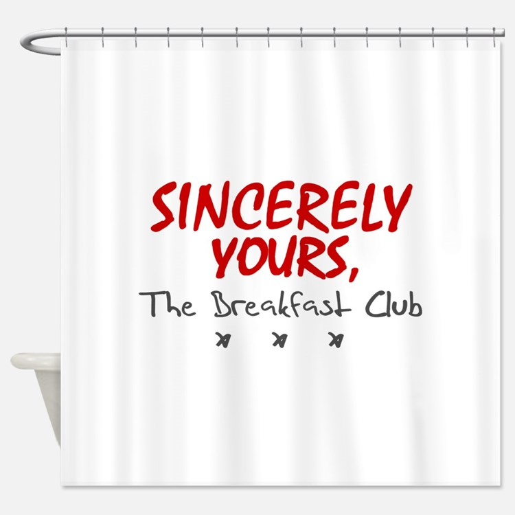 'Sincerely Yours' Shower Curtain