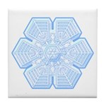 Flurry Snowflake XVI Tile Coaster