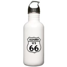 U.S. ROUTE 66 - CA Water Bottle
