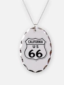 U.S. ROUTE 66 - CA Necklace