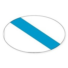 Galicia Flag Oval Decal
