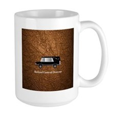 retired funeral director wallet 3 Mug
