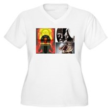 Strong African Women Plus Size T-Shirt