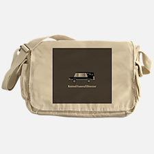 retired funeral director wallet 1 Messenger Bag