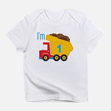 Dump Truck I'm 1 Infant T-Shirt
