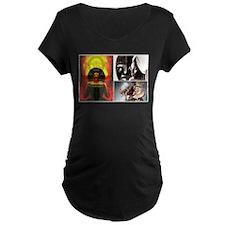 African Goddess Maternity T-Shirt