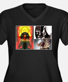 African Goddess Plus Size T-Shirt