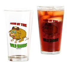 Friend of The Wild Haggis Drinking Glass
