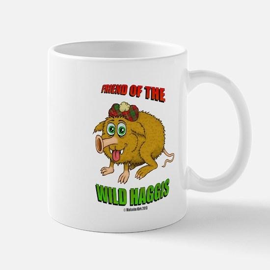 Friend of The Wild Haggis Small Mug