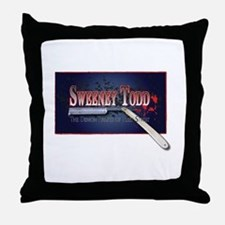 Sweeney Todd Cast Tshirts Throw Pillow