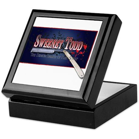Sweeney Todd Cast Tshirts Keepsake Box