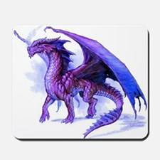 Purple Dragon Mousepad