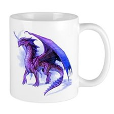 Purple Dragon Mug