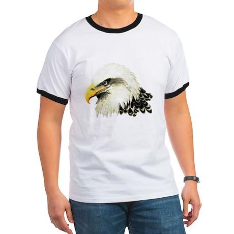 Watercolor Bald Eagle Bird T-Shirt