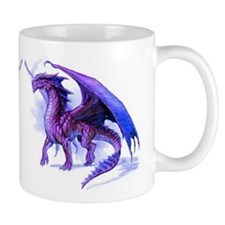 Purple Dragons Mug
