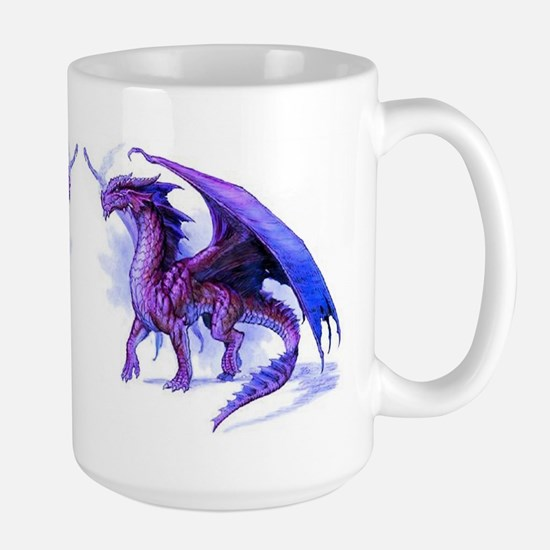 Purple Dragons Large Mug