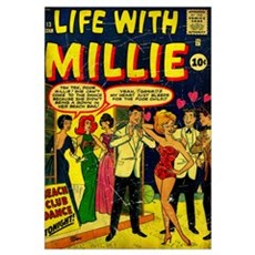 Life With Millie Canvas Art