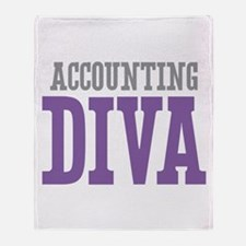 Accounting DIVA Throw Blanket