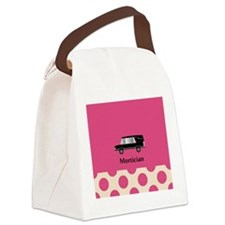 Mortician PINK jewelry Canvas Lunch Bag