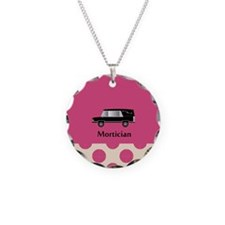 Mortician PINK jewelry Necklace