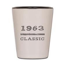 1963 Classic Grunge Shot Glass