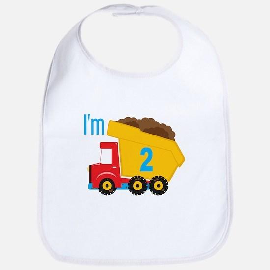 Dump Truck I'm 2 Bib