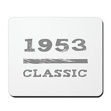 1953 Classic Grunge Mousepad