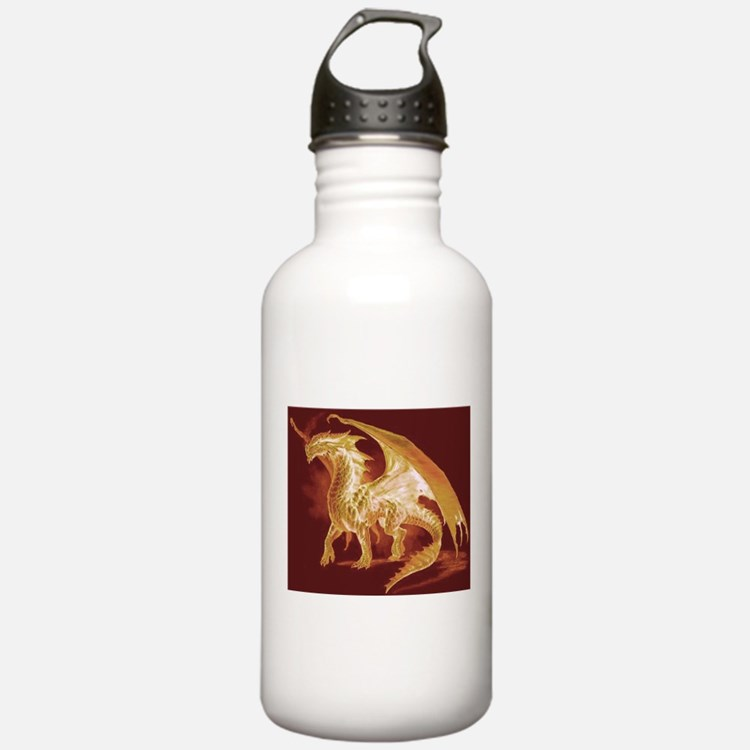 Gold Dragon Water Bottle