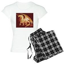 Gold Dragon Pajamas