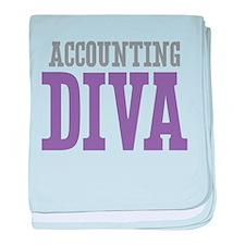 Accounting DIVA baby blanket