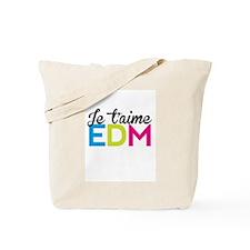 Je T'aime EDM Tote Bag