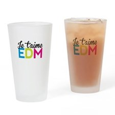 Je T'aime EDM Drinking Glass