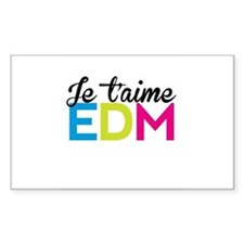 Je T'aime EDM Decal