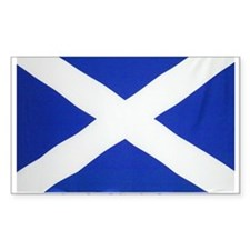 Scotland St Andrews Rectangle Decal